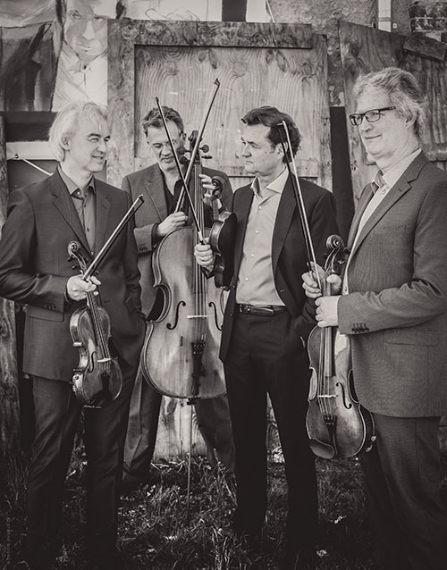 Pressefoto Modern String Quartet MSQ 2