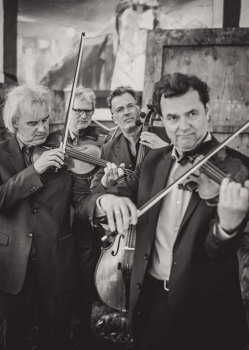 Pressefoto Modern String Quartet MSQ 3